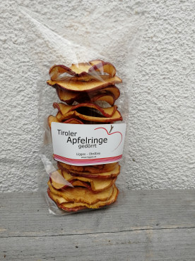 Knackig knusprige Apfelringe als gesunder Snack zu...
