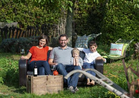Weingut Sailer - Unsere Familie Foto: Michael Himm...
