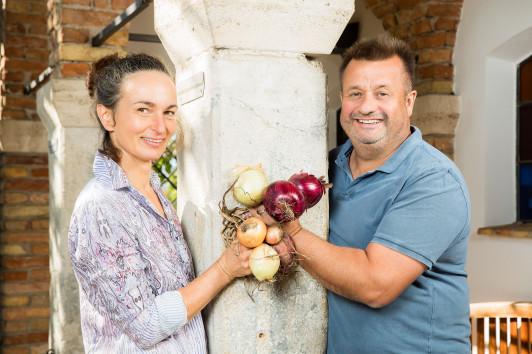 Priska und Erich Stekovics sind auf der Suche nach...