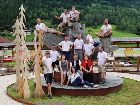 Team Timberra & Reiter Bioholz