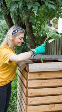 Timberra Komposter als Bauset