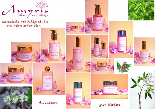Amyris-Produkte  - Übersicht