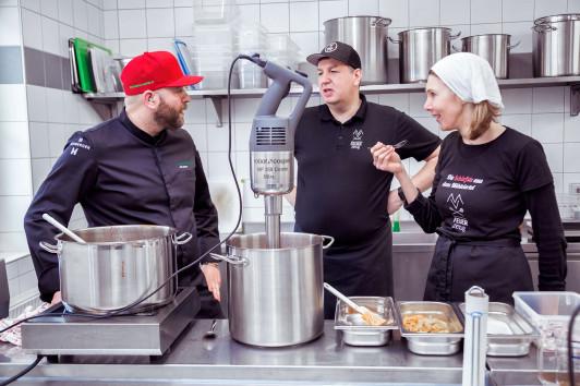Produktinnovation mit Spitzenkoch Jörg Bruch