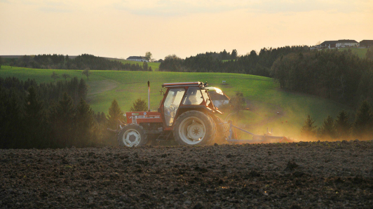 schonende Bodenbearbeitung ist uns wichtig