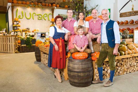 Familie Wurzer aus Bodensdorf bei Wieselburg in Niederösterreich