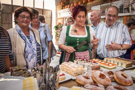 Wurzers Bauernhofcafé in Bodensdorf bei Wieselburg...