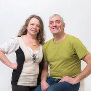 Gabriele Lindorfer und ihr Partner Hans Reitinger ...