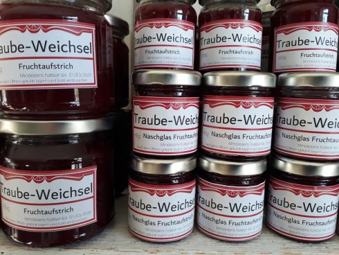Marmeladen rund um die Traube
