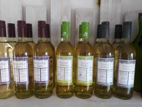 Unsere Weißweine Grüner Veltliner - auch als DAC -...