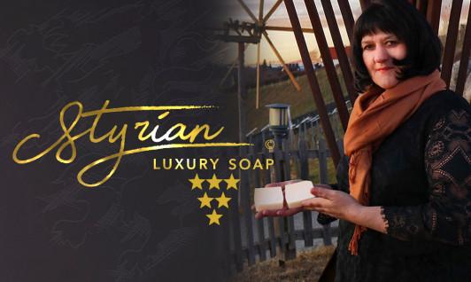 Styrian Luxury Soap hergestellt in der Südsteierma...