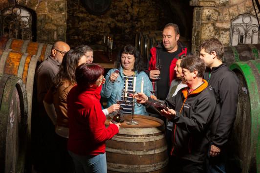 Weinverkostungen, Kellerführungen für bis zu 6 Per...