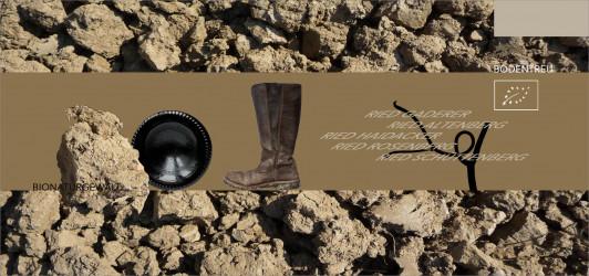 Auf Augenhöhe mit der Natur, dem Boden verbunden u...