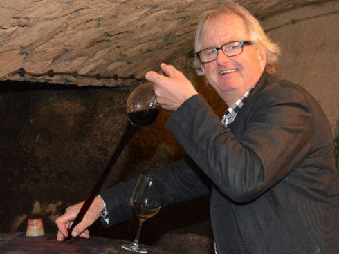 Wenn der Kellermeister Weine verkosten lassen kann...