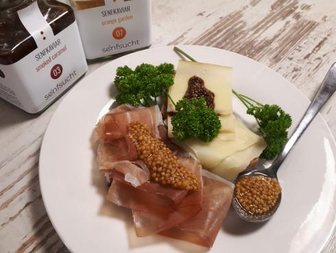 Frage: Und wozu isst man Senfkaviar eigentlich? Ge...