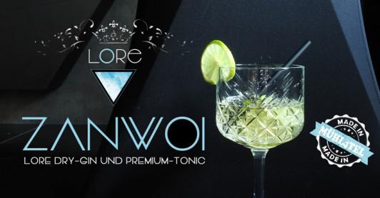 trinkfertiges Gin-Tonic