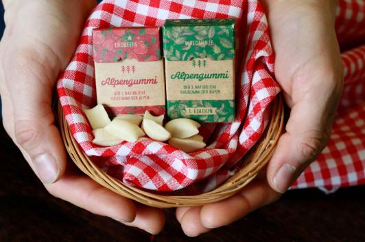 Alpengummi handmade in Österreich.