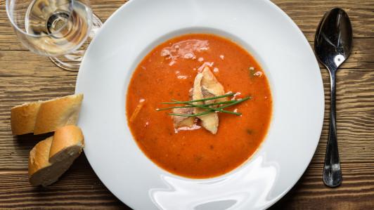 Feistritztaler Fischsuppe - würzig, leicht scharfe...