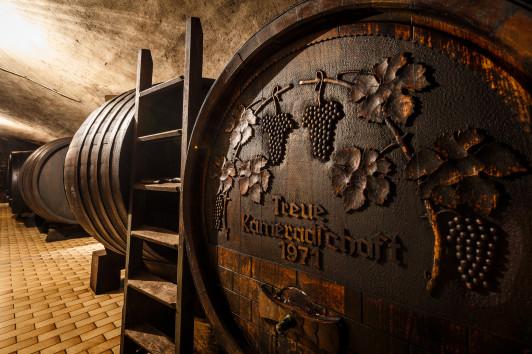 altes Weinfass