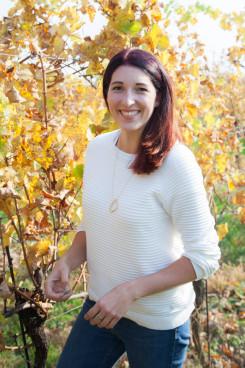 Anna ist verantwortlich für Weingärten und Keller