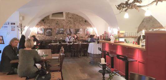 Wein+Deli, das Lokal