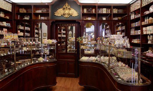 Geschäft: Wiener Schokolade König in der Freisinge...