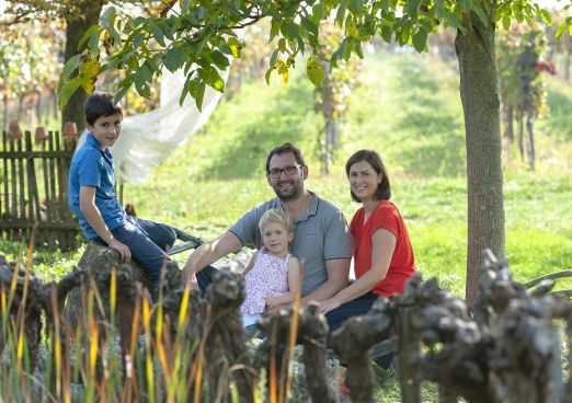 Weingut Sailer - Familybusiness Foto: Michael Himm...