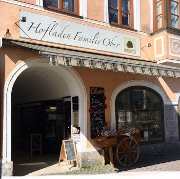 Stadtladen direkt am Stadtplatz