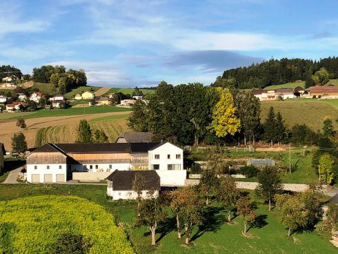Unser Hof am Fuße des Böhmerwalds