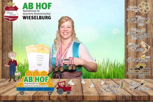 Messe Wieselburg  2020  - 4 Preise bekommen