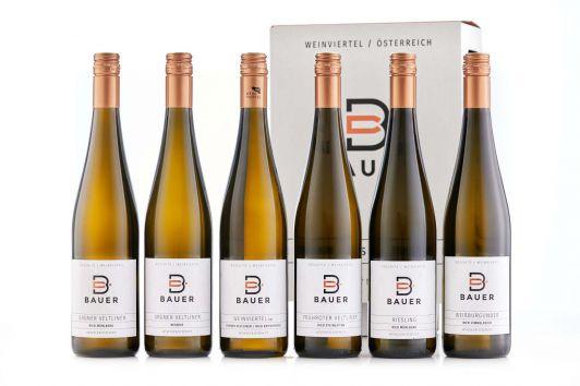 Weinsortimen, Weinbau Hermann & Maria Bauer, Rösch...
