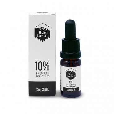 Premium CBD-Öl 10 %, 10 ml
