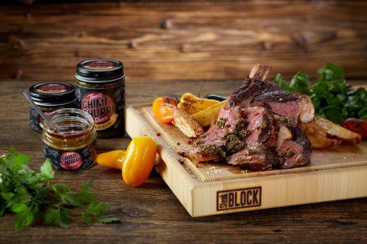 Tom´s Chimichurri Steak und SteakBLOCK