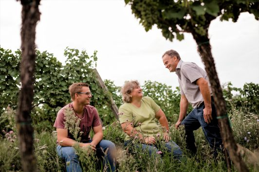 Winzerfamilie Pfalz - Michael, Rosemarie & Markus