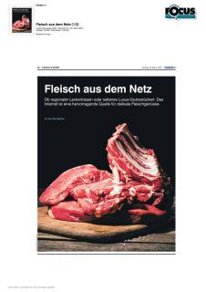 Fleisch aus dem Netz