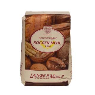 Roggenmehl R500 Unser R500, auch Vorschussmehl genannt, eignet sich  hervorragend für helle Brote oder Schmalzgebäck.