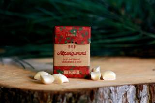 Alpengummi Erdbeere, die kleine Zahnreinigung für zwischendurch.