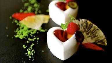 Fruchtiges Joghurtmousse