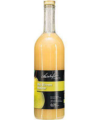 Zutaten: 50% Fruchtanteil Bio-Birnen, Wasser, Bio-Zucker, Zitronensäure, Ascorbinsäure