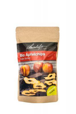 100% getrocknete Apfelringe