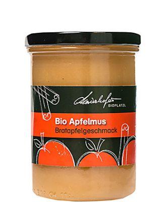 Zutaten: Bio-Äpfel, Bio-Apfelsaft, Wasser, Bio-Zucker, Zitronensäure, Bio-Zimt