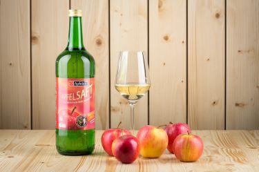 Direkt gepresster Apfelsaft