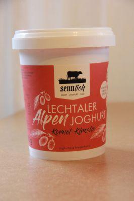 Lechtaler Alpenjoghurt Kornel-Kirsche