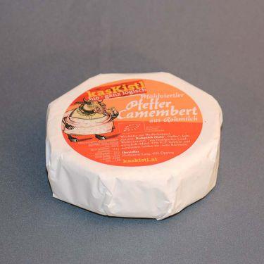 Bio Camembert Pfeffer aus Rohmilch Demeter