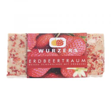 Wurzers Erdbeertraum Edelschokolade