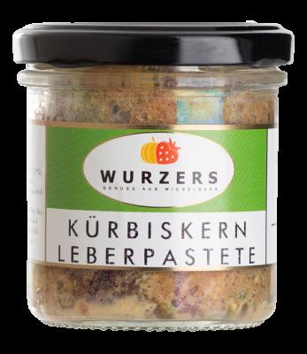 Wurzers Kürbiskern-Leberpastete