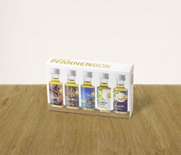 Pfannenbox mit 5 Fandler Minis