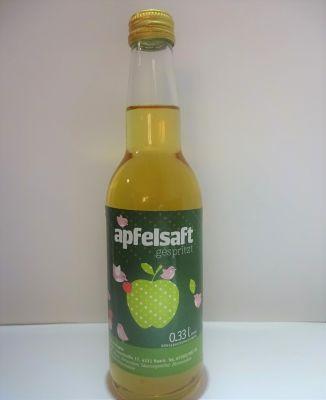 Apfelsaft gespritzt