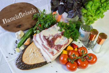 Bauchfleisch vom Mangaliza-Schwein