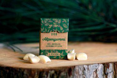Alpengummi Waldminze - die kleine Zahnreinigung für zwischendurch.