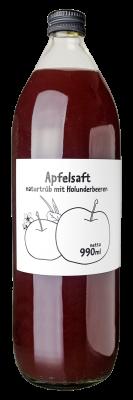 Apfel Holunderbeeren